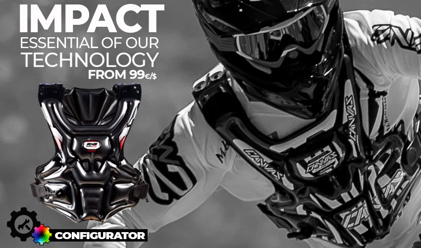 RXR Protect Impact motocross roost deflector