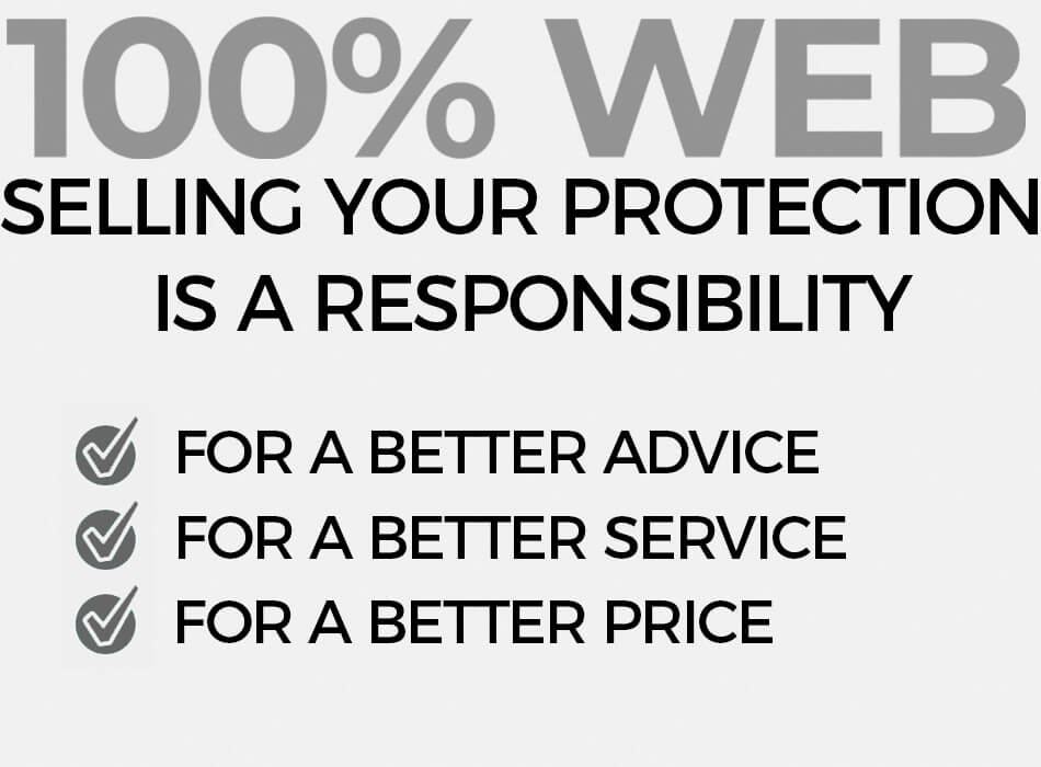 100% web, for a better price